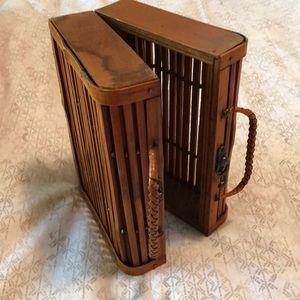 Handbags - Wooden purse 👜
